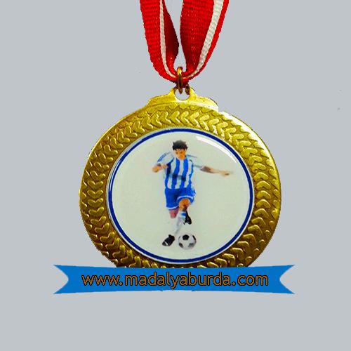 Futbol logolu madalya