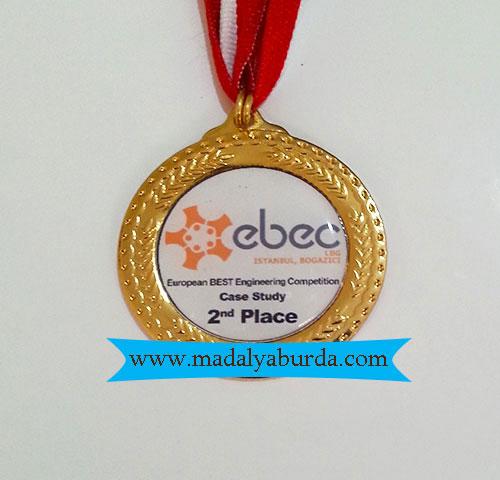 örnek logolu madalya