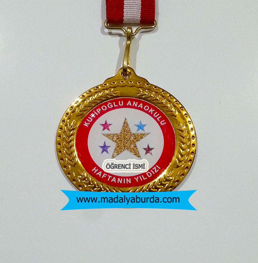 Haftanın yıldızı madalyası
