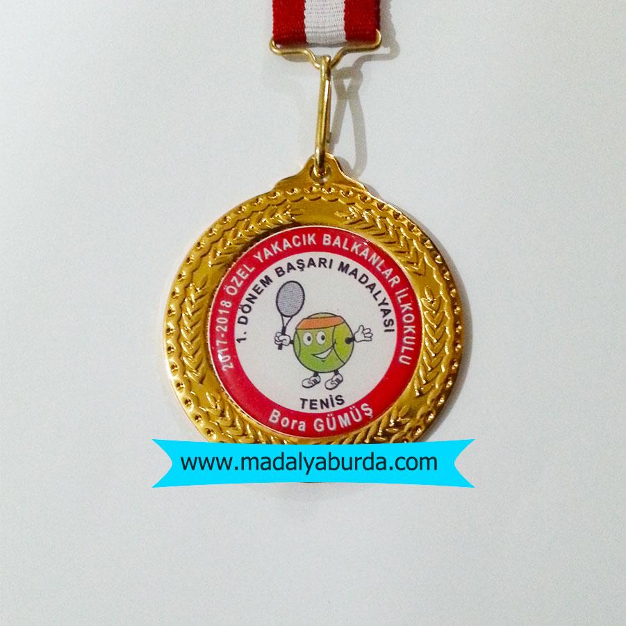 Tenis  Başarı madalyası