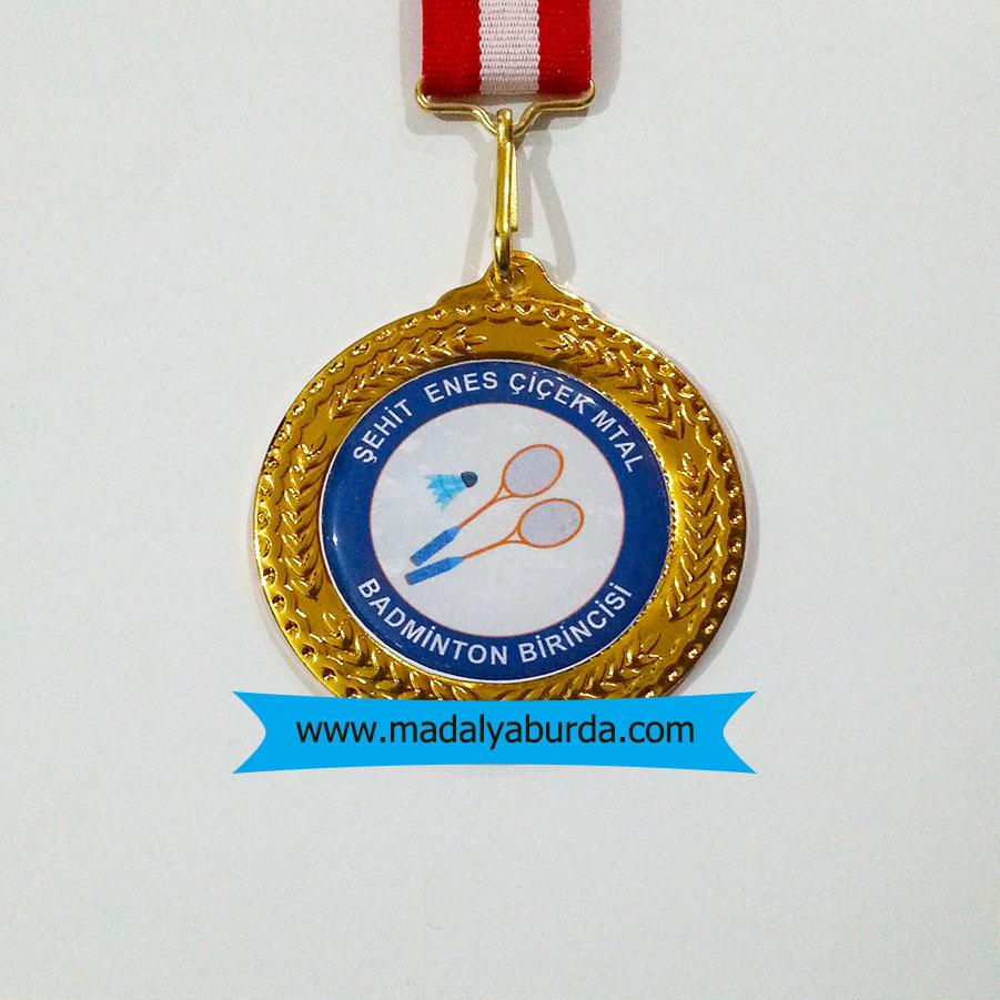Badminton madalyası