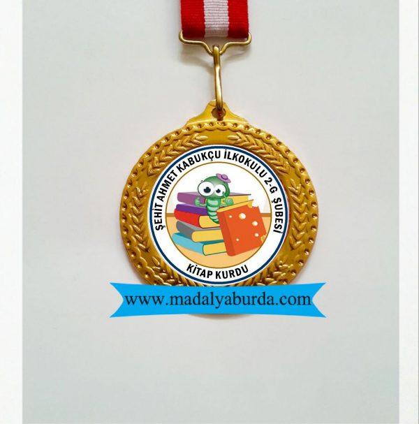 madalya-kitap kurdu ödülü