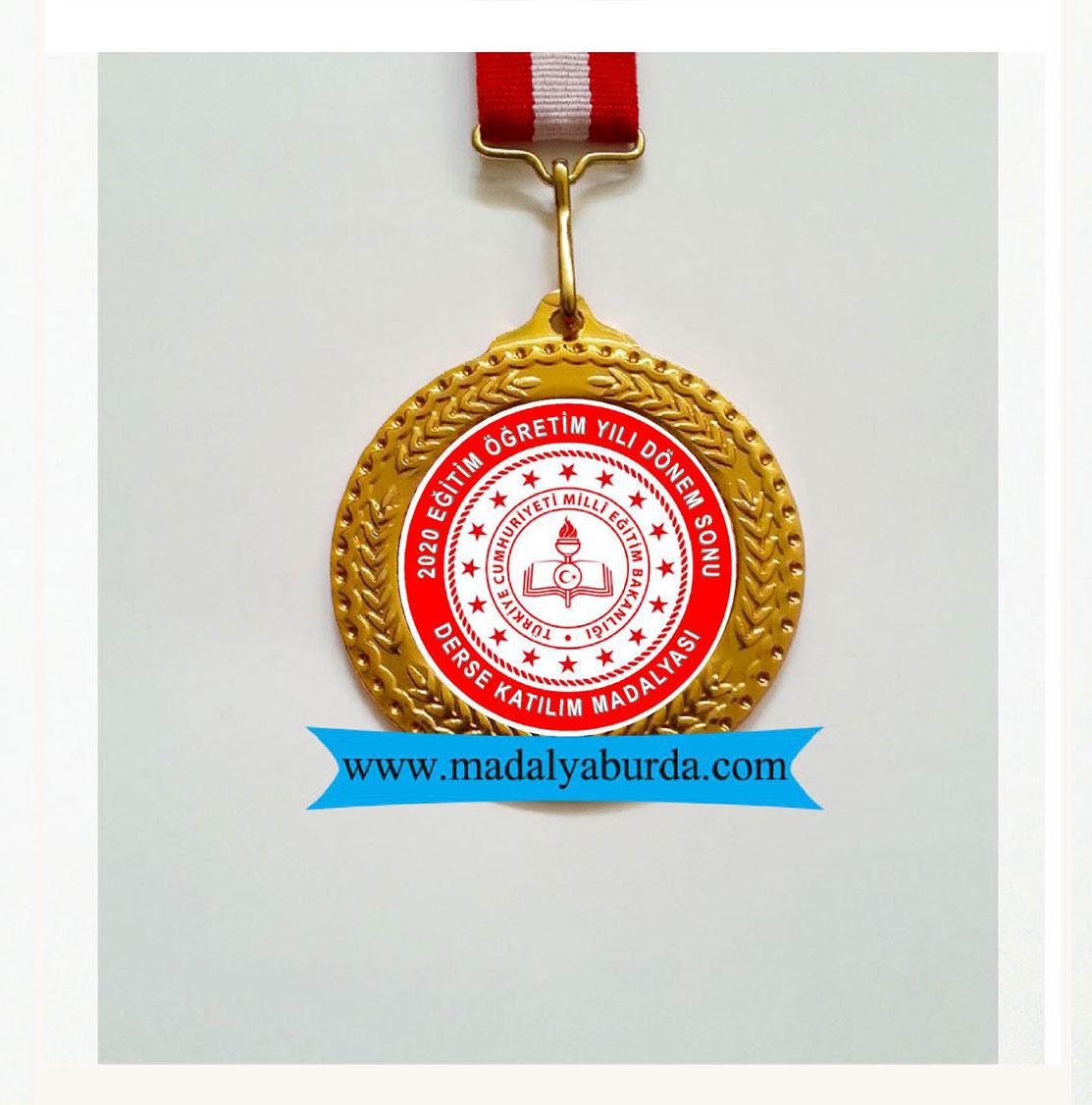Derse Katılım madalyası